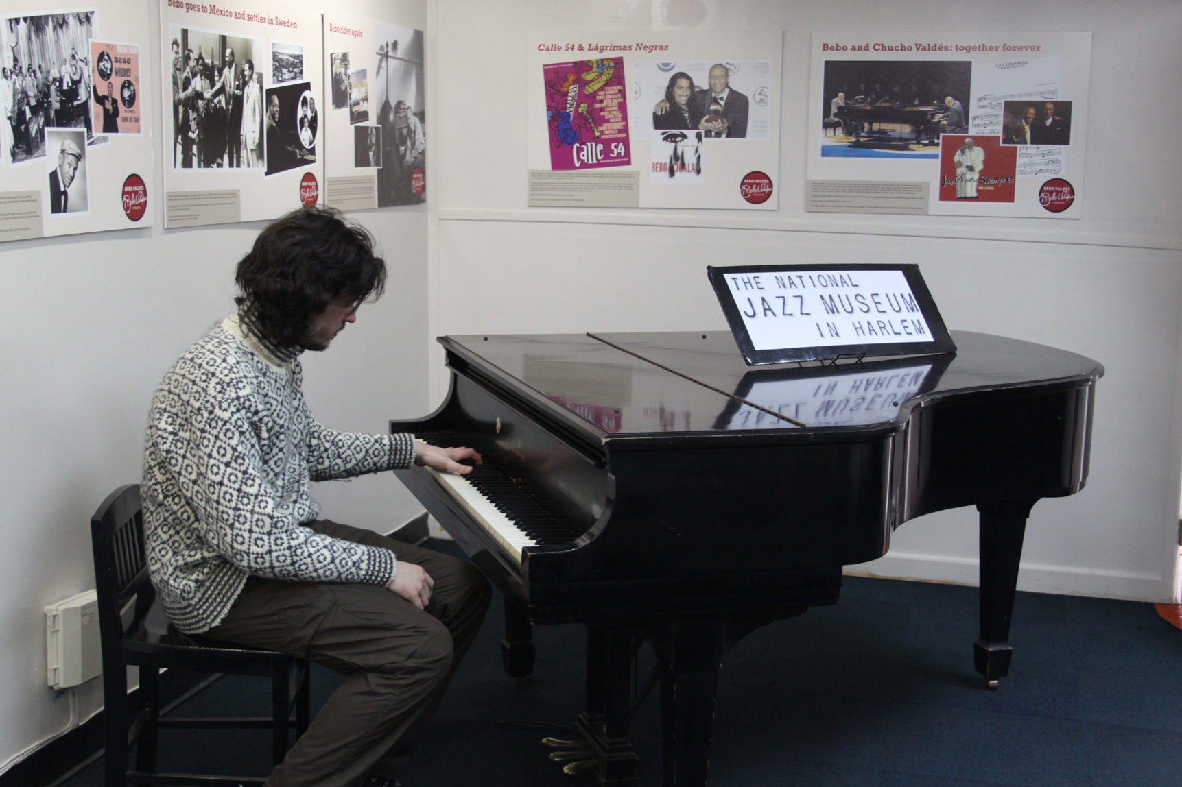 Me and the Steinway